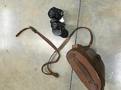 Vintage WWII USMC Binocular's 6x30 With Case Bausch And Lomb