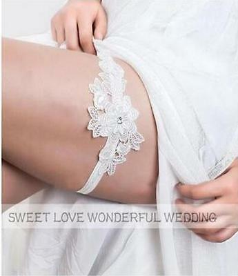 2017 Bride Leg Socks Leglet For Wedding Bridal Lace Garter Elegant Prom Party