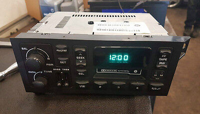 Chrysler P56038933Ab Oem Cassette Radio Jeep Dodge Plymouth Tested Works