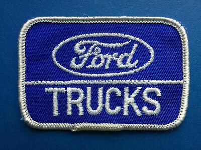 Rare Vintage Ford Trucks Car Club Jacket Hat Coveralls Uniform Patch Crest