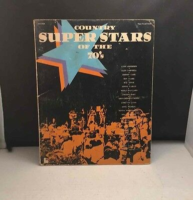 Vintage 1974 Country Super Stars Of The 70s Chords/Music Book F0315SM