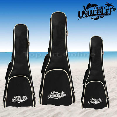 Multi-size Double Straps Padded Electric Bass Guitar Gig Bag Soft Case Backpack
