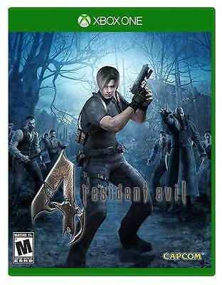 Resident Evil 4 remastered - Xbox One Game - Physical Disc - BRAND NEW SEALED