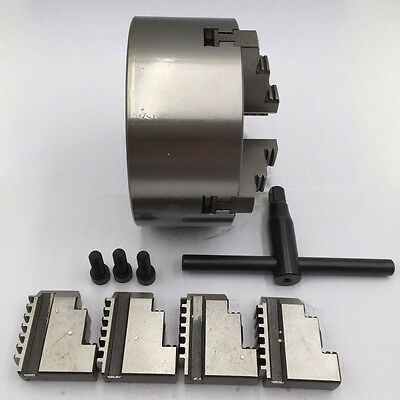 200MM 4 Jaw Lathe Chuck Self Centering for Drilling Milling CNC Lathe Accressory
