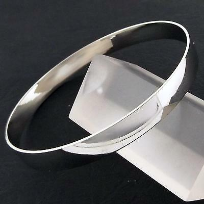 An909 Genuine Real 18K White G/f Gold Solid Ladies Golf Cuff Bangle Bracelet