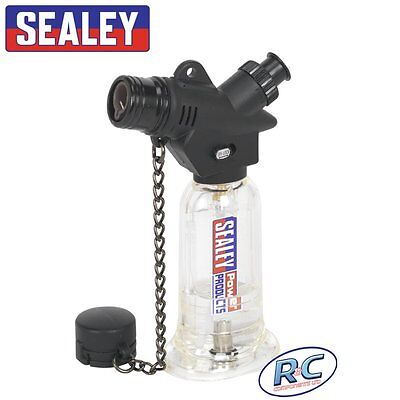 Sealey Micro Butane Heating Blow Torch - Piezo electric ignition 1300°C Flame