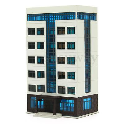 New Outland Railway Models Colored Modern City Building Grand Apartment N Gauge