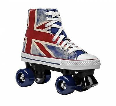 Roces Chuck Classic Roller Skates - Union Jack - UK 2