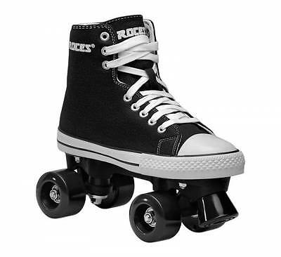 Roces Chuck Classic Roller Skates - Black - UK 3