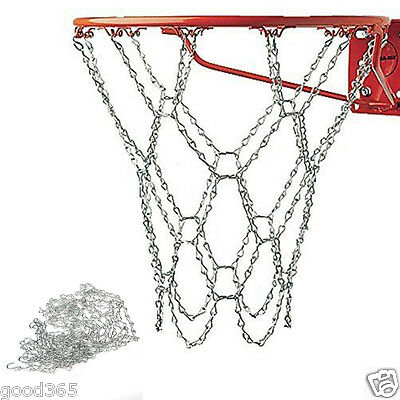 Champion Sports Heavy Duty Galvanized Steel Chain Basketball Goal Net Durable UK