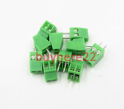 2 pin 3 pin 2 way 3 way Miniture Screw Terminal Block Connector 2.54mm Pitch New