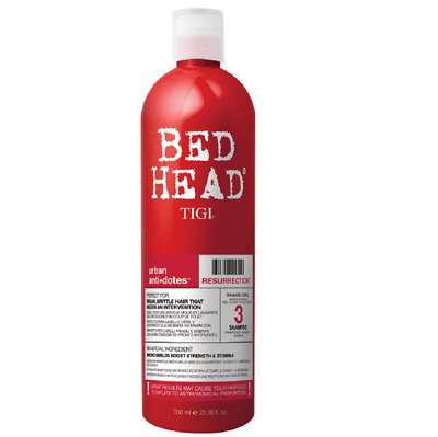 Tigi Bed Head Urban Anti+Dotes Resurrection Shampoo 750ml Damage Level 3