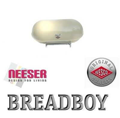 WESCO BREADBOY design BROTKASTEN zum pushboy MANDEL 222201-23 bread bin