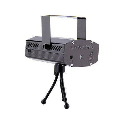 DJ Green & Red Motion Laser Projector- Strobe & Sound Activated Christmas Light