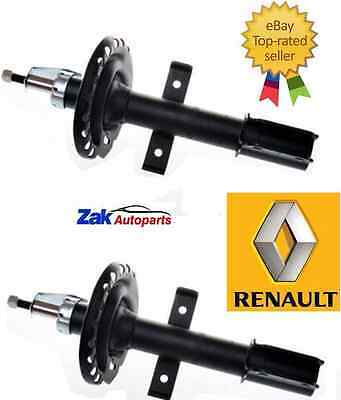 Renault Clio Mk3 (05-) Front Shock Absorbers Pair Struts Shockers Oe Quality
