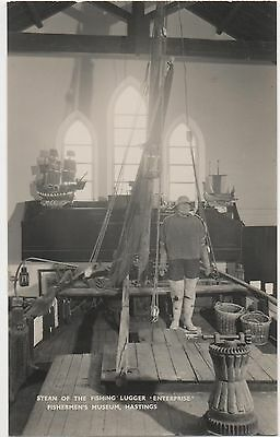 POSTCARD  SUSSEX  HASTINGS Fishermans Museum