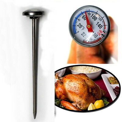 Meat Thermometer Chicken Turkey Poultry Probe Temperature Cooking Baking Food