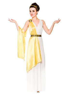 10-24 Sexy Ladies Roman Toga Ancient Greek Goddess Costume Fancy Dress Outfit