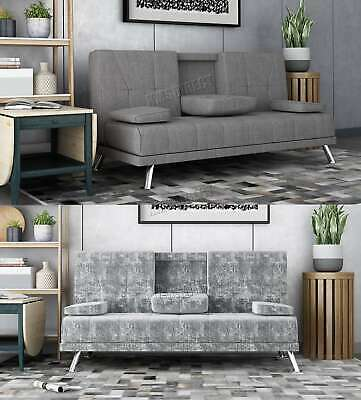 WestWood Fabric Manhattan Sofa Bed Recliner 3 Seater Modern Luxury Design Home