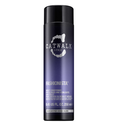 TIGI Catwalk Fashionista Violet Conditioner 250ml Silber-Reflex Goldkorrektur