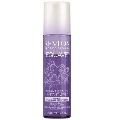 Revlon Equave Instant Beauty Blonde Detangling Conditioner 200ml NEW
