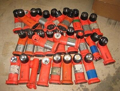 Lot of 32 Streamlight Survivor LED Tactical Flashlight -Non-Working Parts/Repair