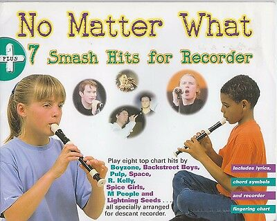 No Matter What - 7 Smash Hits For Recorder