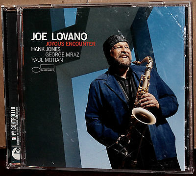BLUE NOTE CD 7243-8-63406-2-7: JOE LOVANO - Joyous Encounter - 2005 CANADA NM