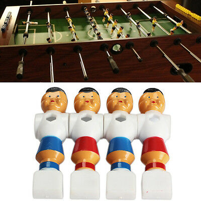 4pcs Rod Foosball Soccer Table Football Men Player Replacement Parts HCXM