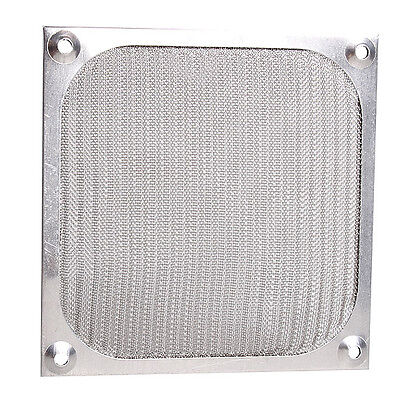 120mm Aluminum Dustproof Cover Dust Filter for PC Cooling Chassis Fan HCXM