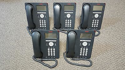 Lot of (5) AVAYA 9620 Phone Business Telephones