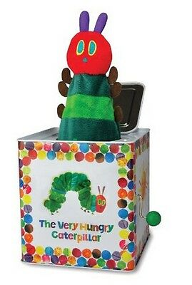 Kids Preferred The Very Hungry Caterpillar Jack In The Box Musical Toy ~NEW~