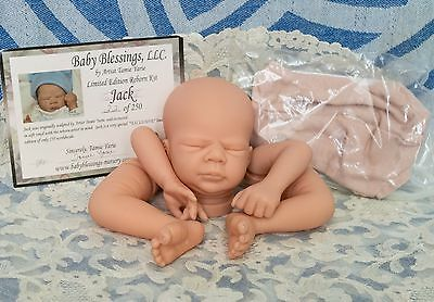 Reborn Doll Kit Jack Tamie Yarie Limited Edition Baby Blessings Boy Miniature
