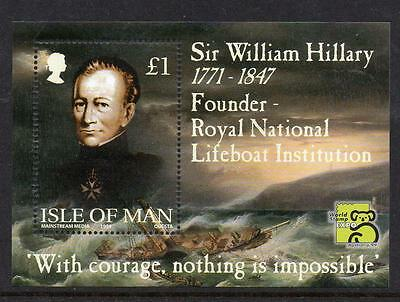 Isle Of Man MNH  1999 175th Ann. of the Royal National Lifeboat Institution M/S