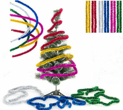 Luxry Thick Halloween Christmas Tinsel 2 METRE Garland Christmas Tree Decoration