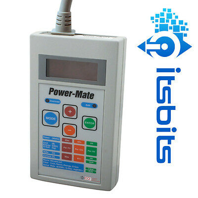 Cabac Hypertec Cci Power-Mate Pm10A Professional Energy Audit Electrical Meter