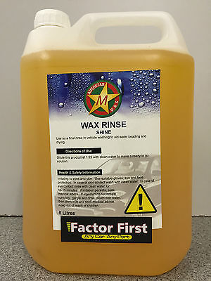 Wash And Wax Professional Car Cleaning Shampoo Wax Polish Shine Cleaner