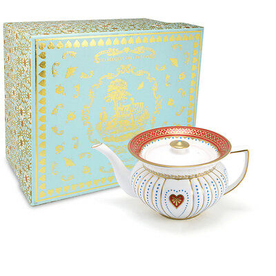 NEW Wedgwood Harlequin Collection, Queen of Hearts Teapot.