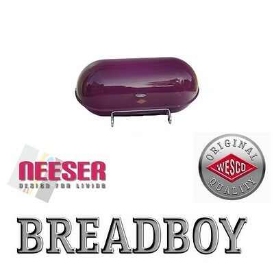 WESCO BREADBOY design BROTKASTEN zum pushboy BROMBEER