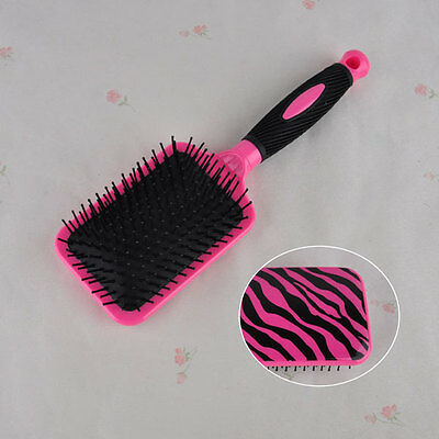 Massager Anti-Static Air Rubber Cushion Paddle Hair Brush Comb