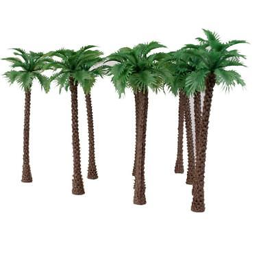 10 Model Train Railway Palm Tree Diorama Landscape Scenery Scale OO HO 1/100