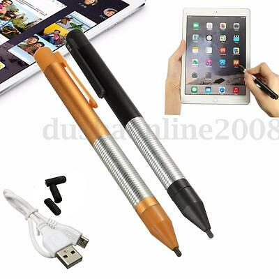 2.4mm USB Active Stylus Stylet Capacitif Stylo Tactile Pr iPhone Samsung Tablet