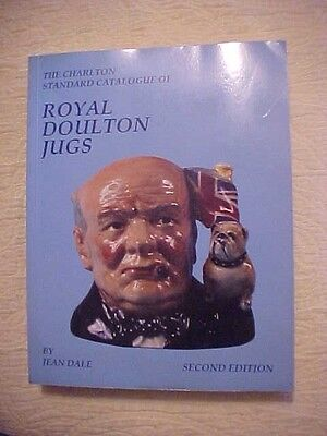 1993 HB Book, CHARLTON STANDARD CATALOGUE OF ROYAL DOULTON JUGS by JEAN DALE