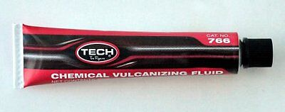 Large 50Ml Tube Of Tech Vulcanizing Cement Tyre Repair Glue