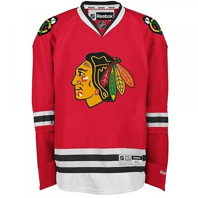 Reebok Premier Chicago Blackhawks NHL Jersey / Shirt Senior - Red/Home