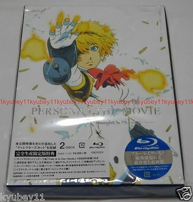 Persona 3 the Movie #2 Midsummer Kinght's Dream Limited Edition Blu-ray CD Japan