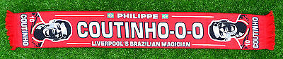 Philippe Coutinho Liverpool Football Scarf