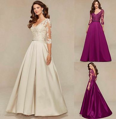 New Sexy Long Formal Wedding Bridesmaid Evening Gown Party Cocktail Prom Dress