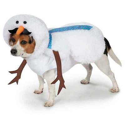 Dog Costume Casual Canine Mustache Snowman Costumes dog fancy dress outfit
