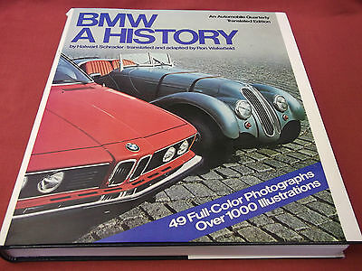 Book. BMW. A History. Automobile Quarterly. Halwart Schrader 1979 HB Free UK P&P